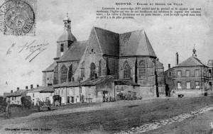Eglise de Renwez et l'Hôtel de ville