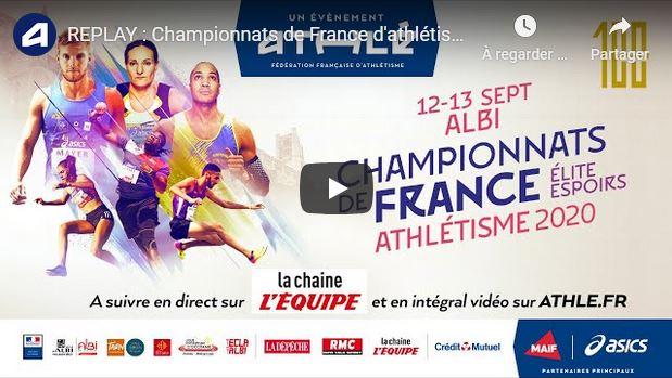 Deux athlètes de Renwez qualifiés au Championnats de France Élite d'athlétisme