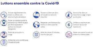 Préfecture des Ardennes : Mesures applicables dans le cadre du Re-confinement  à compter du 30.10.2020