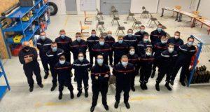 Vente des calendriers des Sapeurs Pompiers de Renwez