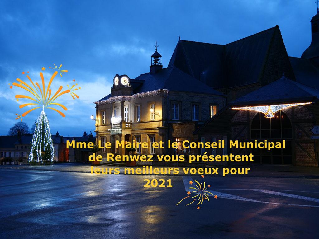 Mme le Maire et les membres du Conseil Municipal vous présentent leurs meilleurs voeux